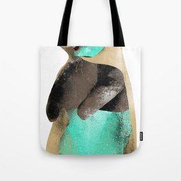 Luchador Bear Tote Bag