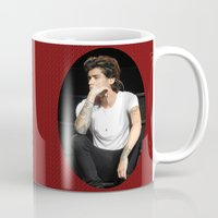 zayn Mugs featuring Zayn  by clevernessofyou