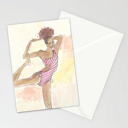 Happy Yogini Stationery Cards