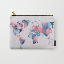 map world map 58 Carry-All Pouch