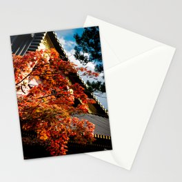 Japanese autumn colors Stationery Cards