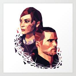 Facets of Shepard Art Print