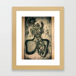 Intuicija Framed Art Print
