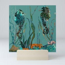 Sea Horse Haven.... Mini Art Print