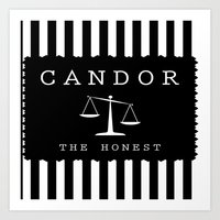 divergent Art Prints featuring CANDOR - DIVERGENT by MarcoMellark