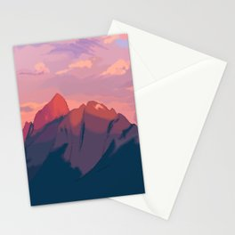 Sunset Hues Stationery Cards