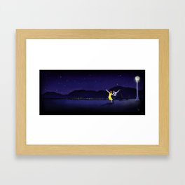 Here's to the Dreamers Framed Art Print