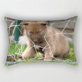 Goalkeeper of the new generation Rectangular Pillow