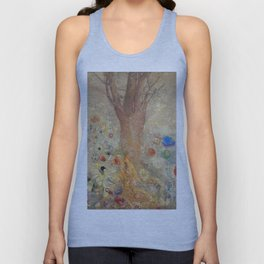 Odilon Redon - Buddah In His Youth Unisex Tank Top