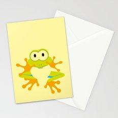 Minimal Tree Frog Stationery Cards