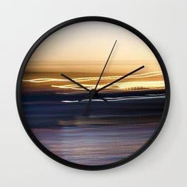 Sunset Sweep Wall Clock