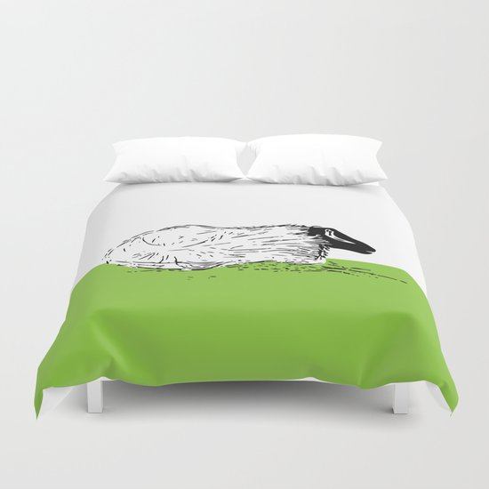 Lounging Duvet Cover