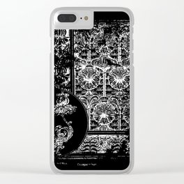 The Plant and its ornamental applications - Old book page - Patern - Flowers Clear iPhone Case