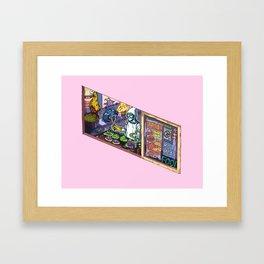 Food Kart Framed Art Print