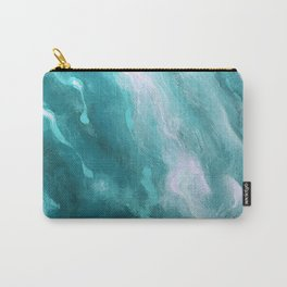 In the Company of Myself: Abstract #1 Carry-All Pouch