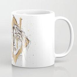 Girl Encased Coffee Mug