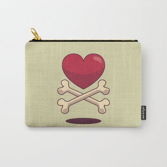 bone up on love Carry-All Pouch