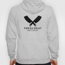 Fresh Meat Records crest Hoody