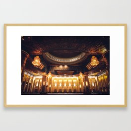 The Grand Mosque Framed Art Print