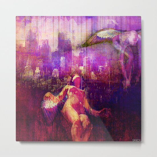 The angels of the city Metal Print