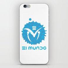 El Mundo iPhone & iPod Skin