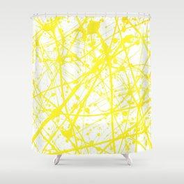 Splat! 11 (Sunshine) Shower Curtain