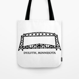 Duluth, MN Aerial Lift Bridge Tote Bag