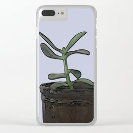 The Plant Bianca Watered Clear iPhone Case