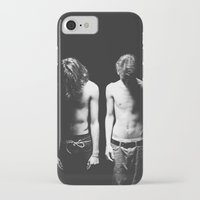 boys iPhone & iPod Cases featuring Boys by Brianne Daigle