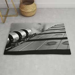 London building abstract  Rug