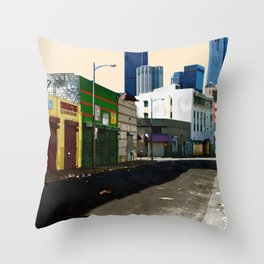 Urban Brutality  Throw Pillow