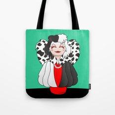 Kokeshi Cruella Tote Bag