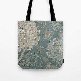 Cocoa Paisley VI Tote Bag