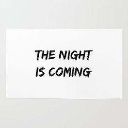 The Night Is Coming Halloween Holiday Design Rug