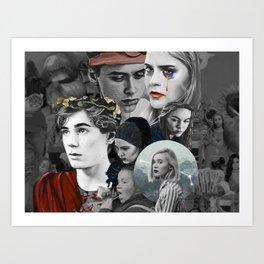 SKAMTASTIC Art Print