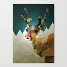 Poor Rudolph - Christmas Canvas Print
