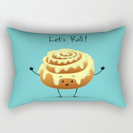 Let's Roll! Rectangular Pillow
