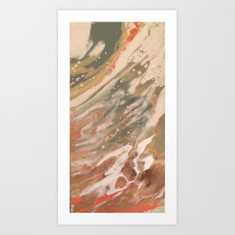 Moldy Marshmallow Art Print