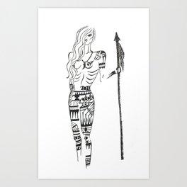 Amazonian Art Print