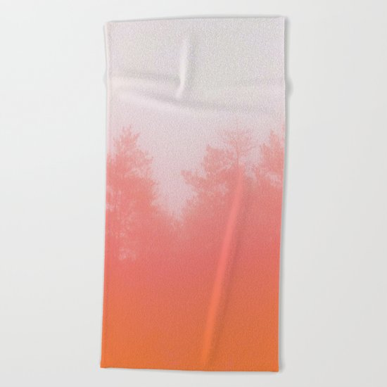 Out of Focus Beach Towel