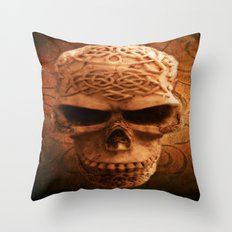 Simply Skull Throw Pillow