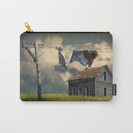 Wash on the Line by Abandoned House Carry-All Pouch