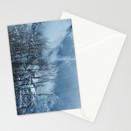 Yosemite winter Stationery Cards