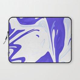 Abstract purple marble pattern Laptop Sleeve