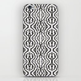 Black Coral Weaving iPhone Skin
