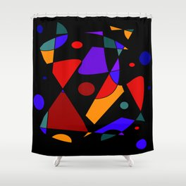 Chance Meeting Shower Curtain