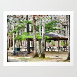 Pavilion Art Print