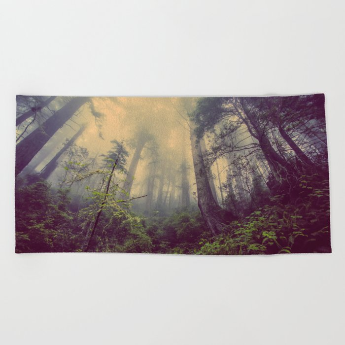 Surrender to the Wild Beach Towel