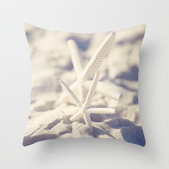 Two Starfish Throw Pillow