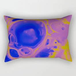 Lemon and Lavender Rectangular Pillow